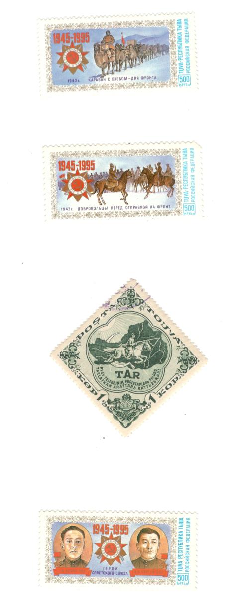 Тувинская Народная Республика была участником Великой Отечественной войны